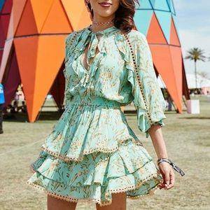 Boho Gypsy Maisie print dress